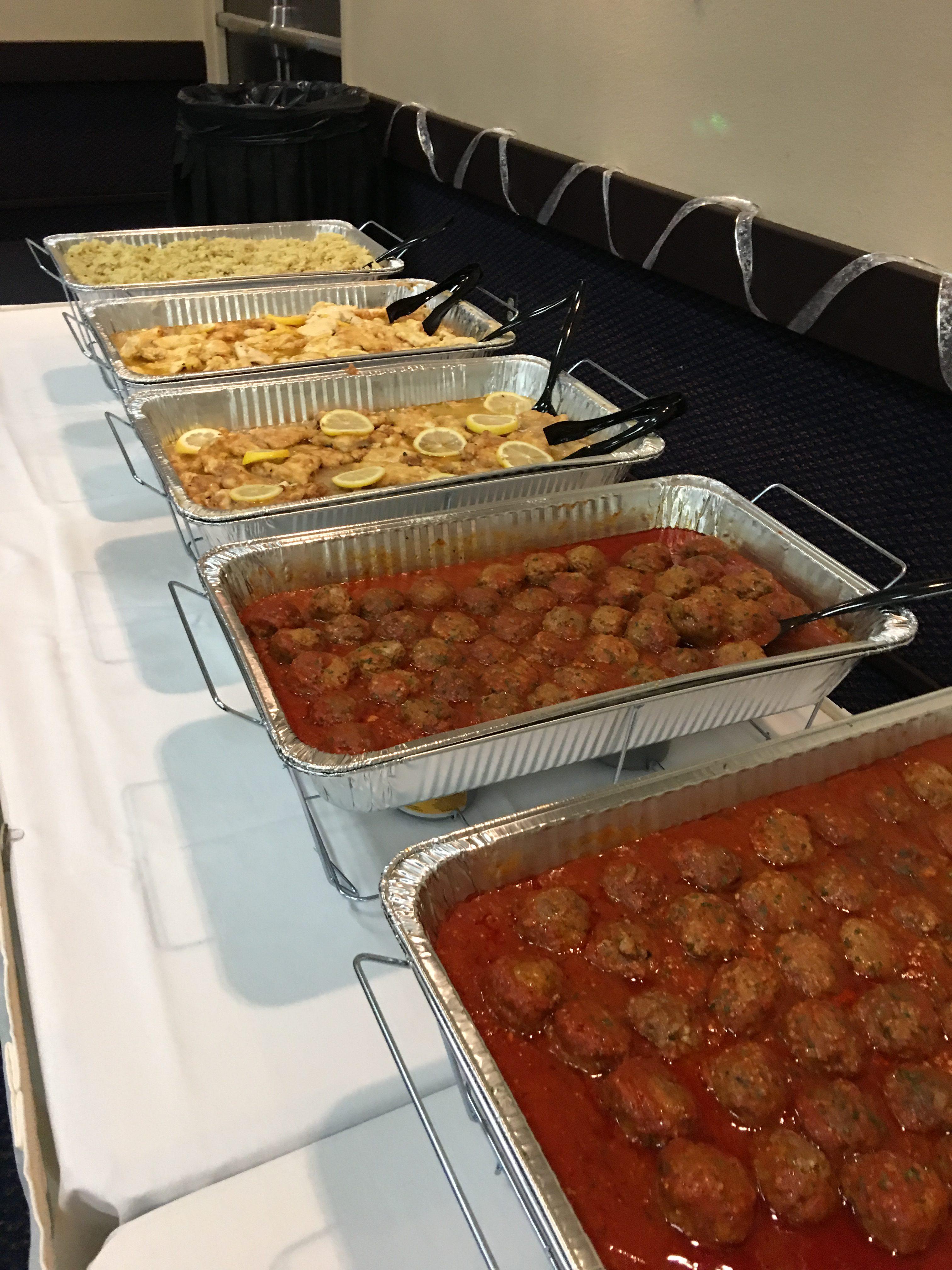 Drop-Off Pasta Bar & Italian Meatballs