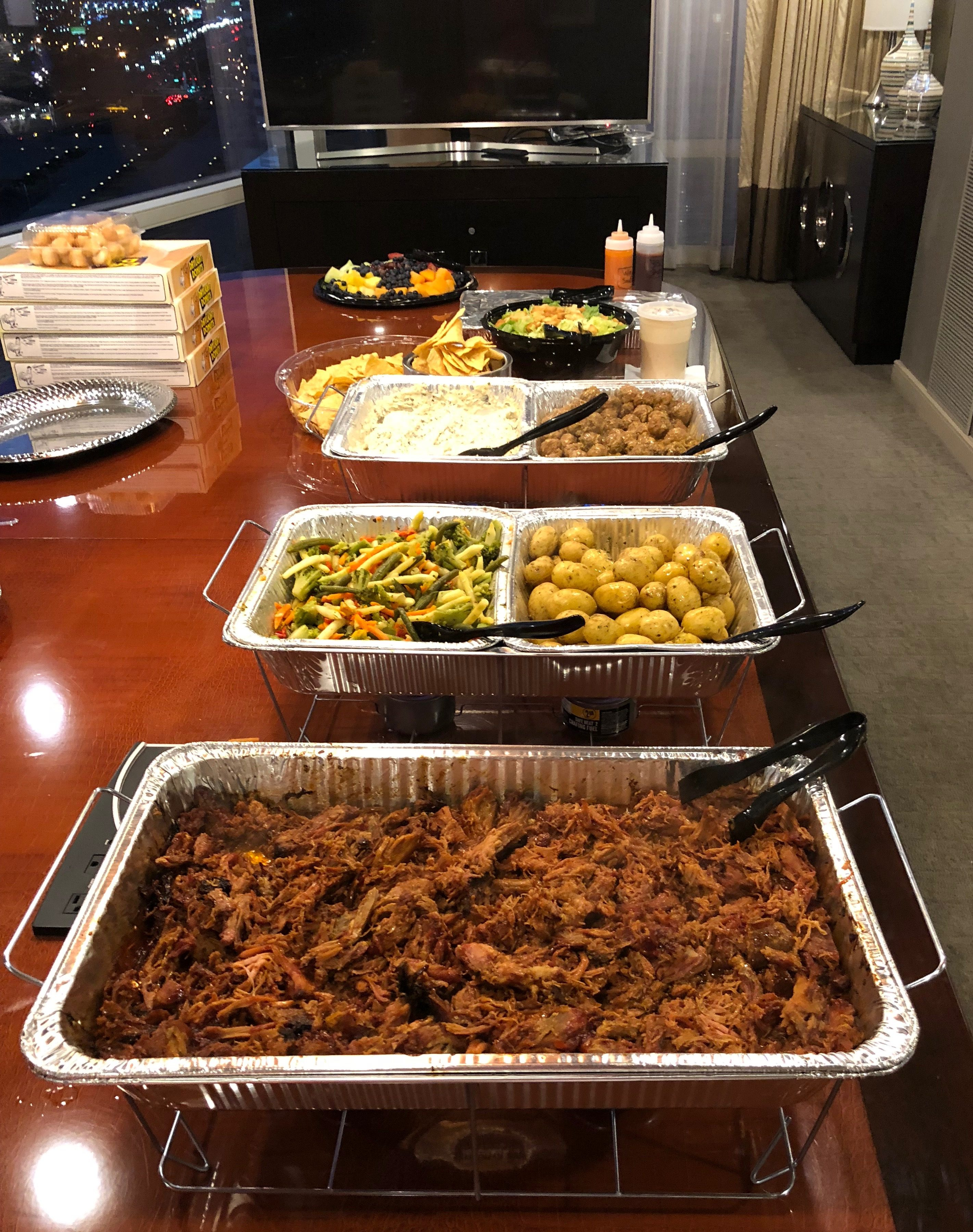Kiss The Cook Catering Drop-Off Services Las Vegas