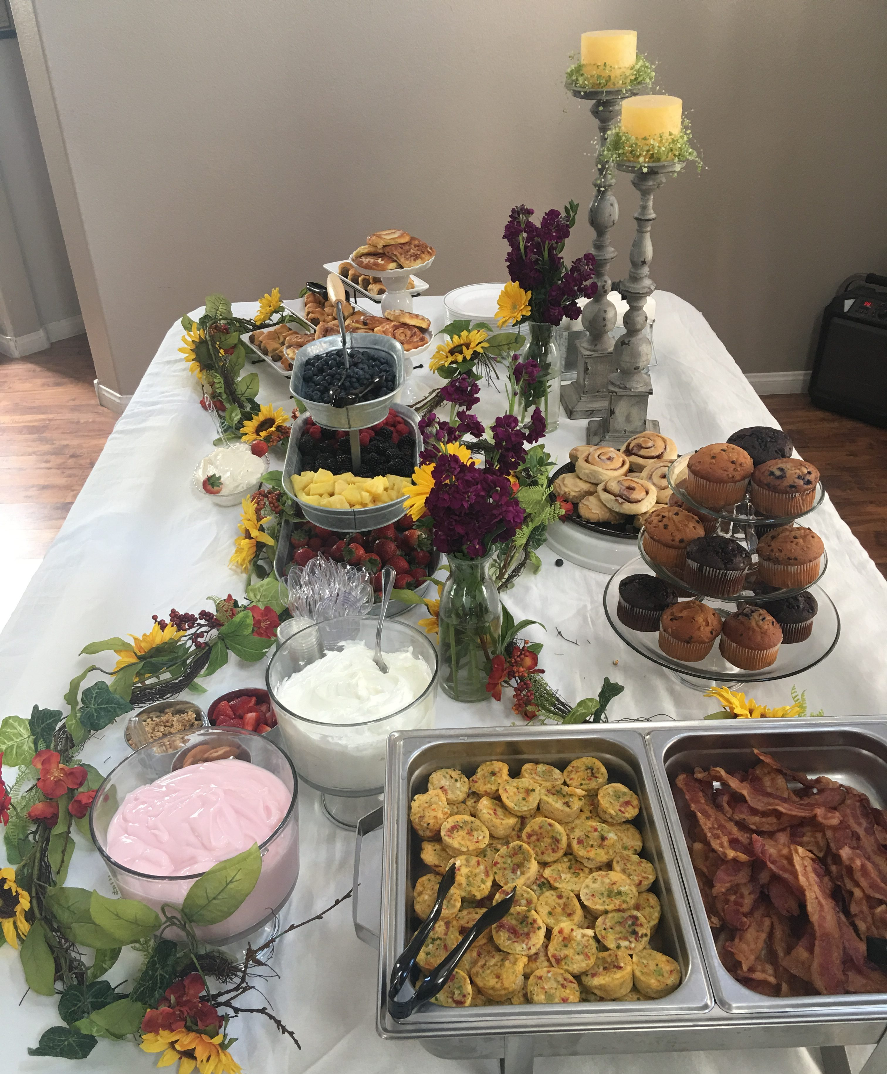 Baby Shower Brunch Catering Service