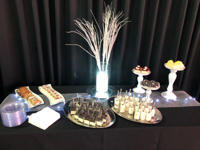 Tiramisu Cups, Oreo Cups & Pastries - Full Service Dessert Catering by Kiss The Cook Catering of Las Vegas.