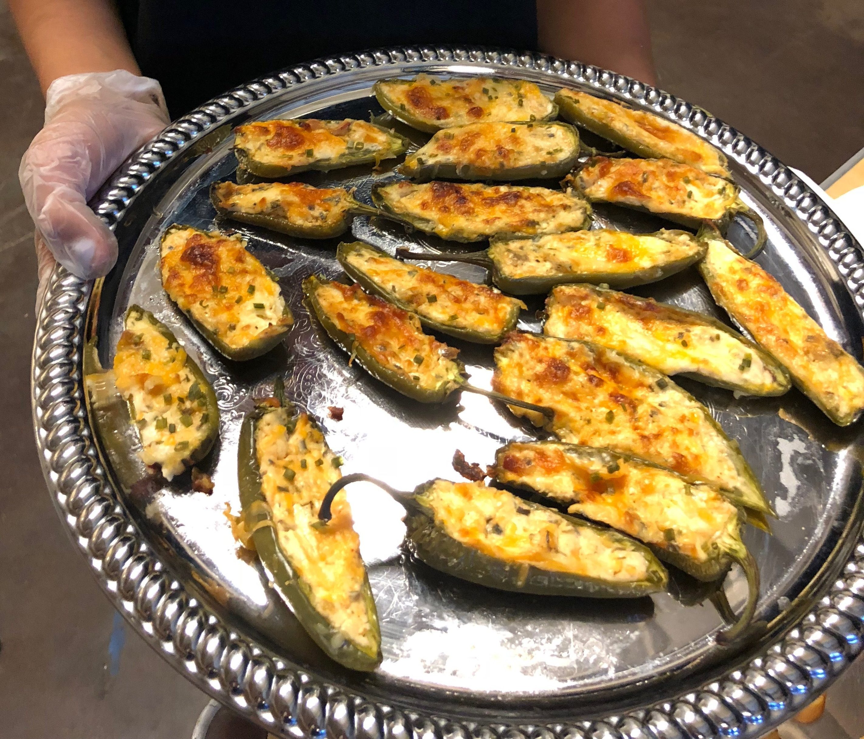 Jalapeno Poppers - Passed Appetizer Service Kiss The Cook Catering