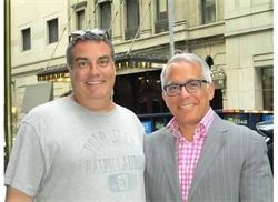 Kiss The Cook Catering Chef Eddie & Iron Chef Jeff Zakarian